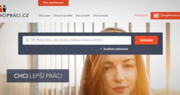 Hledání práce u nás - nový web ChciPráci.cz a srovnání s konkurencí