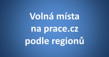 práce cz podle regionu